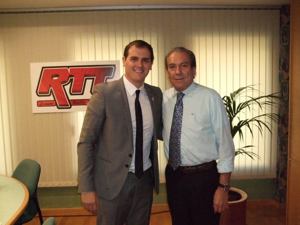 Justo Molinero & Albert Rivera