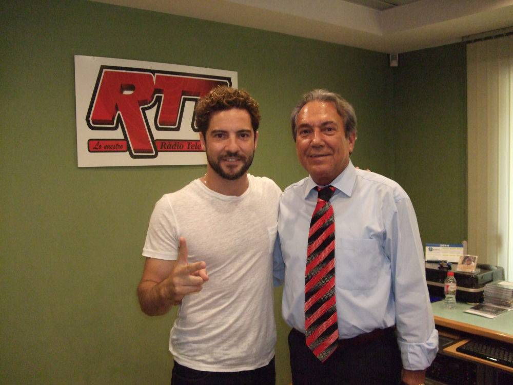 Justo Molinero & David Bisbal 2