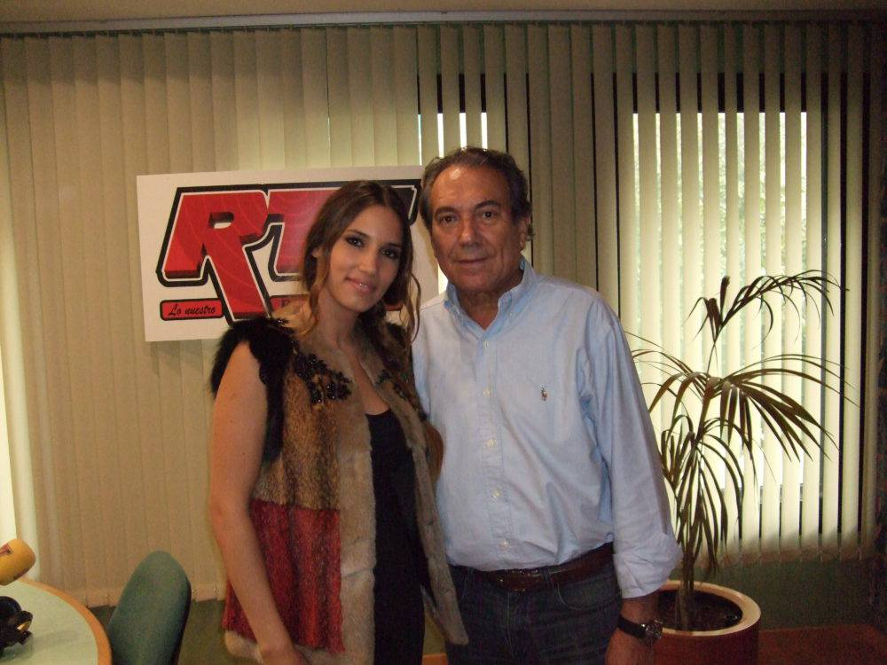 Justo Molinero & India Martinez