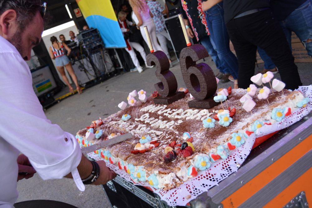 Pastel del Aniversario Foto:Jose Manuel Camaño