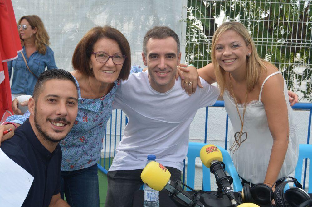 Robert, Clara, César, Mª José